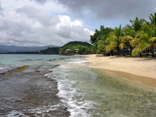 Magazine Beach in Grenada