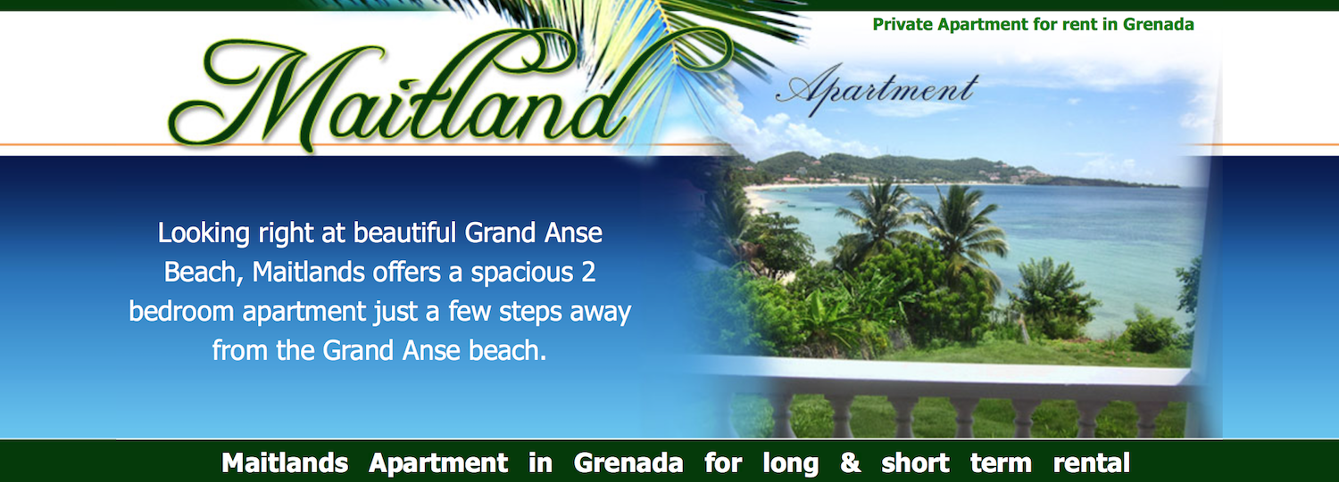 Maitland Apartments in Grenada for long and short term rental