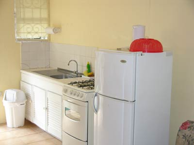 Seaview Apartments Kitchen